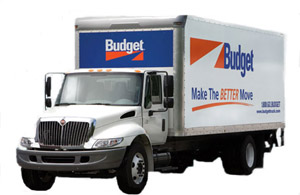 Budget Rental Moving Truck