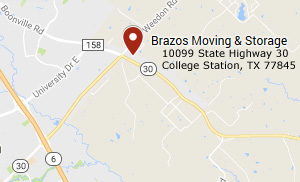Brazos Moving And Storage - College Station - Highway 30 Location