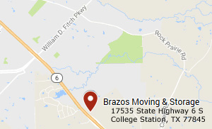 Brazos Moving And Storage - College Station - Highway 6 Location