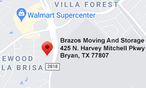 Brazos Moving And Storage - Bryan - 2818 Location